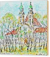 St. Michaeli Church In Munich Wood Print