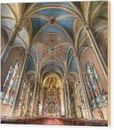 St. Michael's Church Alter Wood Print