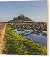 St Michael's Mount Wood Print