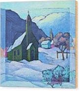 St Michaels Wood Print