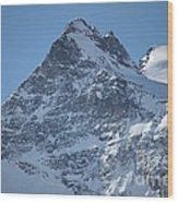 St Mortiz Peaks Wood Print