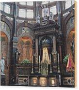 St Nicholas Church Interior In Amsterdam Wood Print