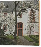 St-nikolaus-hospital  Bernkastel Wood Print