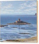 St Ouen's Bay Wood Print