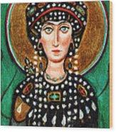 St Patricia Wood Print