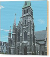 St Patrick Cathedral Wood Print