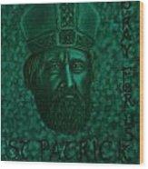 St Patrick Wood Print