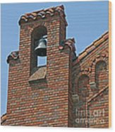 St Patrick Parish Bell Tower Wood Print