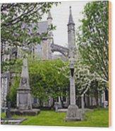 St Patricks Cathedral - Dublin Ireland Wood Print