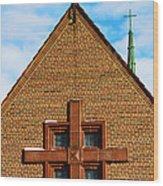 St Patricks Church Wood Print