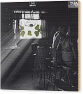 St. Patrick's Day At The Suffern Hotel Wood Print