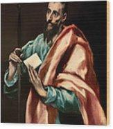 St Paul Wood Print