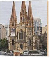 St. Paul's Anglican Cathedral Wood Print