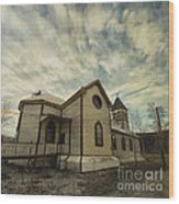 St. Pauls Anglican Church Wood Print by Priska Wettstein