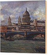 St. Paul's  Cathedral  - London Wood Print