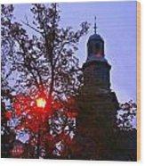 St Pauls Church Halifax Wood Print
