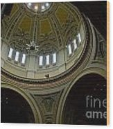 St. Paul's Dome Wood Print