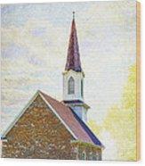 St Paul's Lutheran Church Wood Print