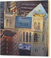 St Pauls Nyc Wood Print