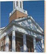 St. Pauls's Memorial Church Charlottesville Wood Print