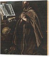 St Peter Of Alcantara Wood Print