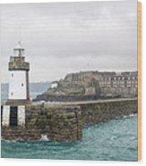 St Peter Port - Guernsey Wood Print