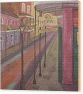 St. Peter Street Wood Print