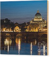 St. Peters Basilica Wood Print