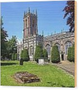 St Peter's Church - Tiverton Wood Print