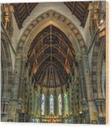 St Peter's Church Vertorama Wood Print