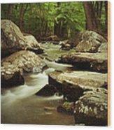 St. Peters Stream Wood Print