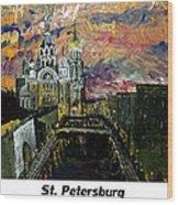 St  Petersburg Wood Print