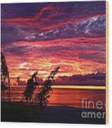 St. Petersburg Sunset Wood Print