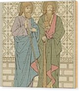 St Philip And St James Wood Print