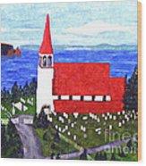 St. Philip's Church Wood Print