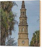 St. Philip's Episcopal Church Charleston Sc Wood Print