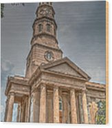 St. Philip's Episcopal Church In Charleston Wood Print