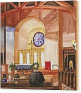 St. Raphaels - Early Morning Prayers Wood Print