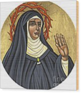 St. Rita Of Cascia Patroness Of The Impossible 206 Wood Print