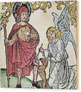 St. Roch (c1350-c1379) Wood Print