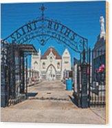 St Roch's Cemetery Wood Print