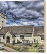 St Sannans Church Bedwellty 3 Wood Print