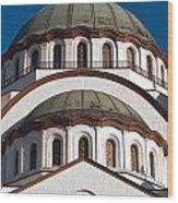St Sava Temple Wood Print