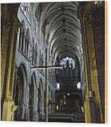 St. Severin Church In Paris France Wood Print