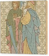 St Simon And St Jude Wood Print