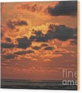 St Simons And Sea Island Sunrise Wood Print