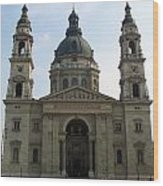 St Stephens Basilica Budapest Wood Print