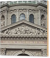 St. Stephen's Basilica Closeup Wood Print