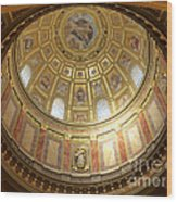 St. Stephen's Dome Wood Print