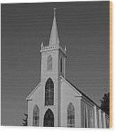 St. Teresa's Bodega Bay 2  Wood Print